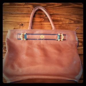 Tory Burch hobo leather purse